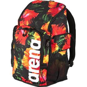arena Team 45 Backpack tropical flower black-orange